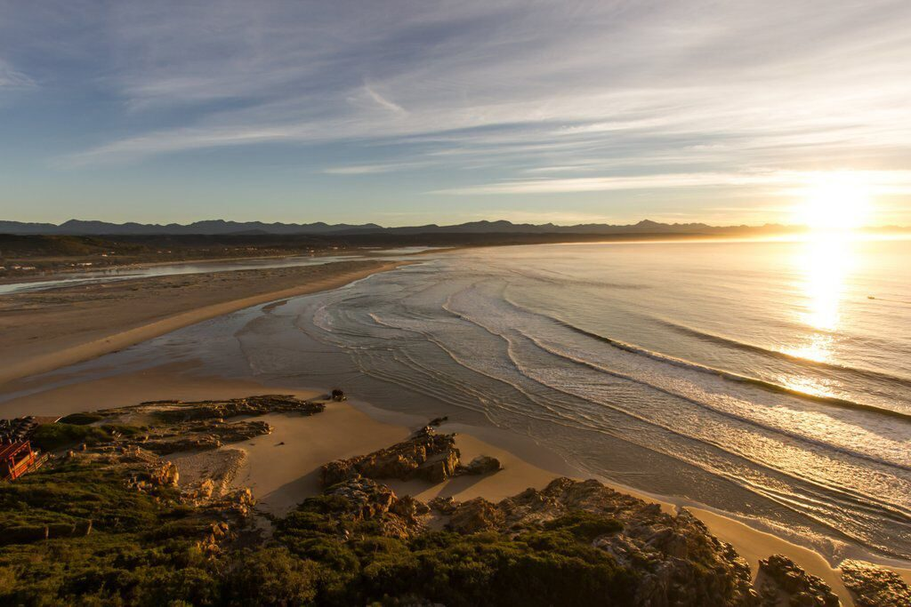 Lookout beach in Plett